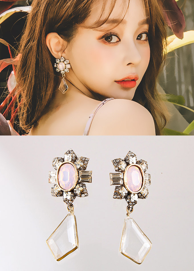 ROSE TEA EARRING